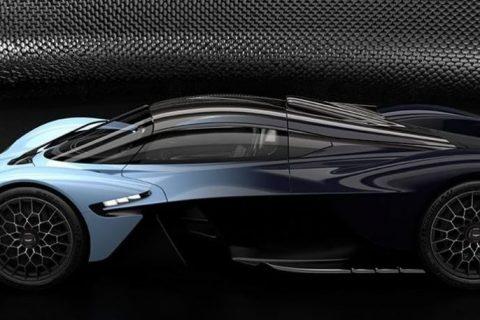 ထုတ္လုပ္ရန္အသင့္ Aston Martin Valkyrie ကို စတင္ျပသ