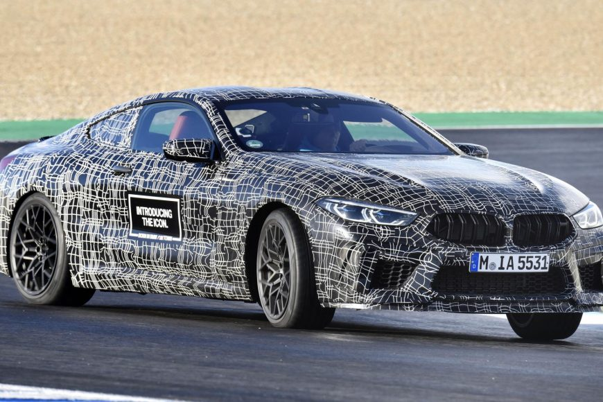 ျမင္းေကာင္ေရအား ၆၀၀ အထက္ရွိမယ့္ BMW M8 Coupe ကားသစ္